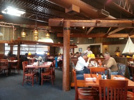 Red Lobster Inside View