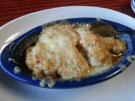 Red Lobster's Lobster-Crab-and-Seafood Stuffed Mushroom